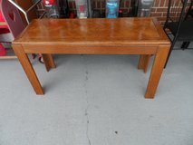 "Sofa table (4' x 18"" x 26'H) reduced from 65 in Cherry Point, North Carolina"
