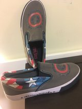 Captain America shoes in Okinawa, Japan