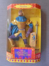 "Disneys Phoebus Action Figure, New In Box, 12"" Phoebus Toy, Mattel 1995 in Travis AFB, California"