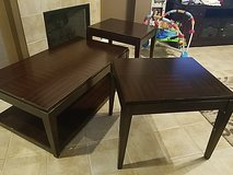 coffee table and 2 end tables in Baytown, Texas