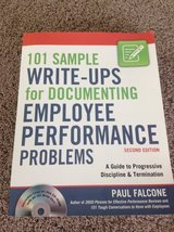 101 Sample Write-ups for Documenting Employee Performance  Problems in Bolingbrook, Illinois