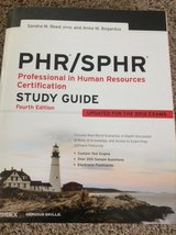 PHR/SPHR Study Guide in Plainfield, Illinois