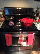 LG DUAL Convection & Conventionnel Electric Glasstop Stove W/ 5 Burners! in Lackland AFB, Texas