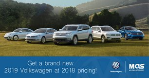Would you like a new 2019 VW and pay the 2018 price? in Shape, Belgium