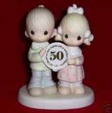 Vintage Precious Moments 50 aniversery figurines in Fort Leonard Wood, Missouri