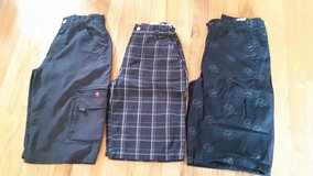 Boys Size 14 shorts 3 pairs - 2 Tony Hawk and 1 Unionbay in Naperville, Illinois