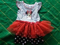 Disney's Mini mouse dress with bottoms. in Beaufort, South Carolina