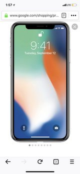 New Unlocked iPhoneX 256gb - space gray in Alamogordo, New Mexico