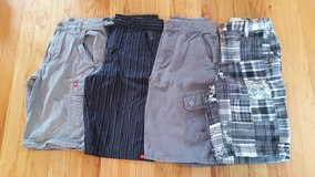 Boys shorts size 12 used 4 pairs - 3 Tony Hawk and 1 Old Navy in Naperville, Illinois