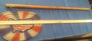 4th of July metal spiner/twirler made in the USA with pole. in Alamogordo, New Mexico