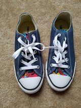 BRAND NEW!! Converse All-Star Superman, Size 1Y in Fort Campbell, Kentucky