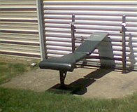 weight bench **HEAVEY DUTY** in Fort Knox, Kentucky