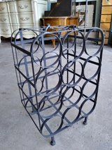 METAL CRATE WINE RACK in Lockport, Illinois