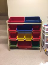 Toy Bin Organizer Shelves in St. Charles, Illinois