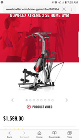 Bowflex Xtreme 2 SE Home Gym in Tomball, Texas