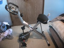 Exerpeutic  Folding upright bike with pulse reader in Lawton, Oklahoma