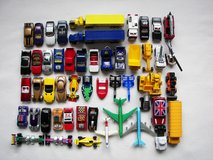 Lot of  Used Hot Wheels, Corgi, Matchbox Toy Cars -Very Good Condition in Oswego, Illinois