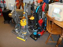 Vacuums $7-38, Dyson DC07 - $120 (Kirby & Dyson ball is sold) & 3 Sharks $45-85 in Cherry Point, North Carolina