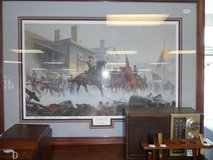 "Confederate Framed Print signed (39"" x 28) in Cherry Point, North Carolina"
