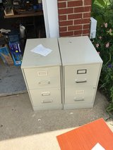 2 drawer file cabinets with lock in Oswego, Illinois