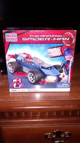 Mega Blocks/Mega Blox The Amazing Spiderman- Spiderman Speeder  Brand New in box in Naperville, Illinois
