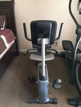 Weslo recumbent exercise bike in Fort Campbell, Kentucky