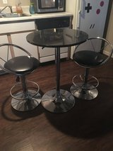 Round table with 2 bar stools in Fort Leonard Wood, Missouri