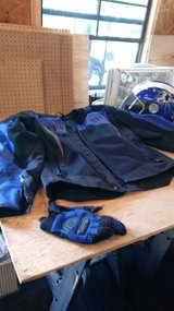 Scorpian racing jacket/gloves/helmet in Camp Lejeune, North Carolina