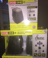 NEW Hybrid RYOBO One + 18V Score Wireless Speaker Set & Additional Speaker in Baytown, Texas
