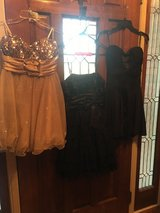 Formal Dresses/ junior girls /LOT of 3/ SZ S in Fort Campbell, Kentucky