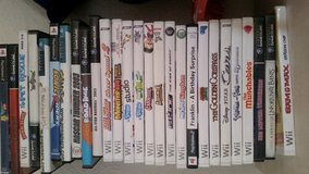 Wii Video Game Nintendo Various Games in 29 Palms, California