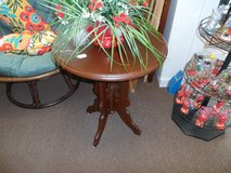Round table - solid wood in Cherry Point, North Carolina