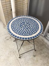 Patio table in Okinawa, Japan