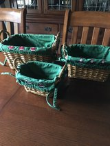 Christmas baskets in Westmont, Illinois