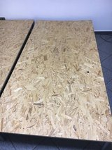 Two large pressed wood boards 77x33 in in Ramstein, Germany