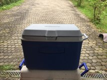 Rubbermaid ice chest in Ramstein, Germany