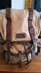 L.L.Bean Waxed-Canvas Continental Rucksack in Camp Lejeune, North Carolina