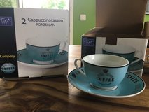 Cappuccino cup and saucer set in Stuttgart, GE