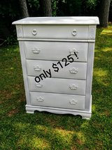 chalk painted dresser in Cherry Point, North Carolina