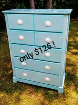 custom painted dresser in Cherry Point, North Carolina