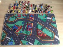 Play mat with 50+ cars/trucks/plains in Stuttgart, GE