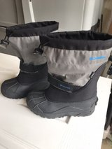 Boys Size 4 Columbia boots in Chicago, Illinois