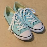Women's LowTop Converse Shoes Worn Once Size 8 in Vacaville, California