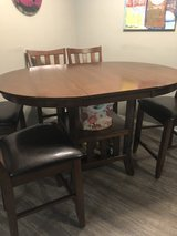 Counter Height Table w/ 6 Bar Chairs in Fort Leonard Wood, Missouri