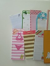 Assorted notepads in Camp Lejeune, North Carolina