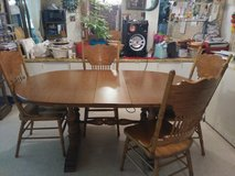Dining room table 6 chairs in DeRidder, Louisiana