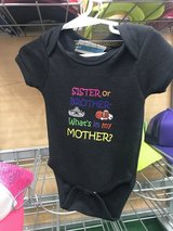 Sister or brother onesie 3-6 months in Camp Lejeune, North Carolina
