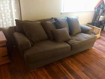 Large super comfy brown couch in Camp Pendleton, California