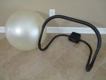 Exercise Ab Roller Bar and Exercise Ball in Kingwood, Texas
