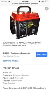 Sunpentown 1000w Portable Generator in Fort Polk, Louisiana